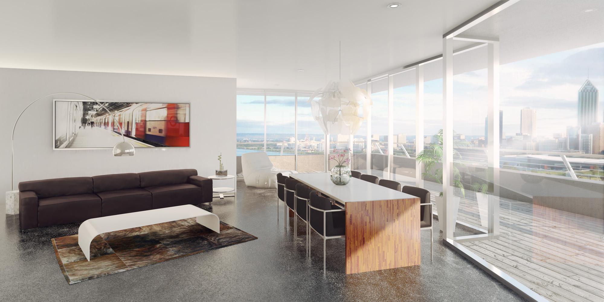 Tout pour une déco Loft exceptionnelle: canapé, fauteuil, tabouret, Chaise, table - Esprit Loft
