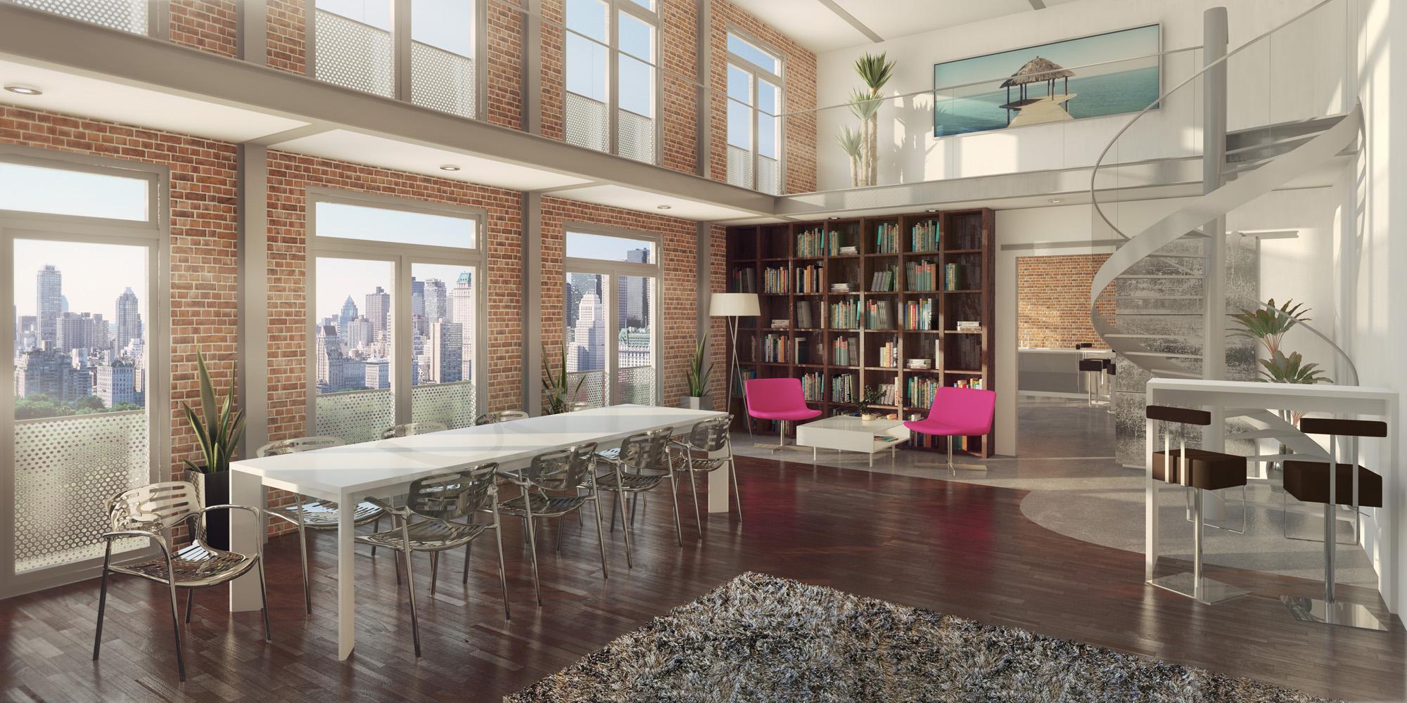Canapé haut-de-gamme pour une ambiance loft unique - Esprit Loft